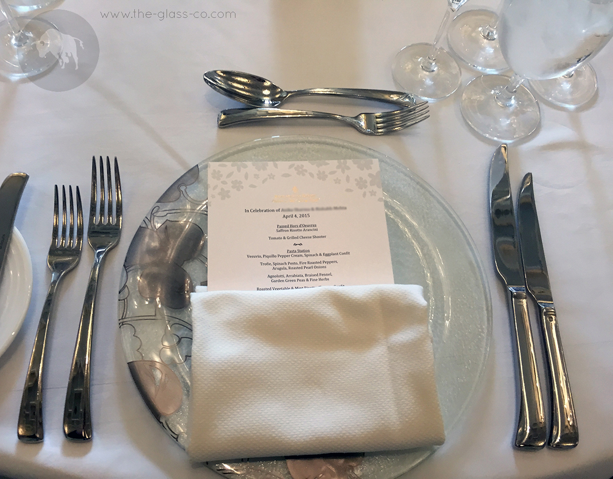 wedding dinnerware