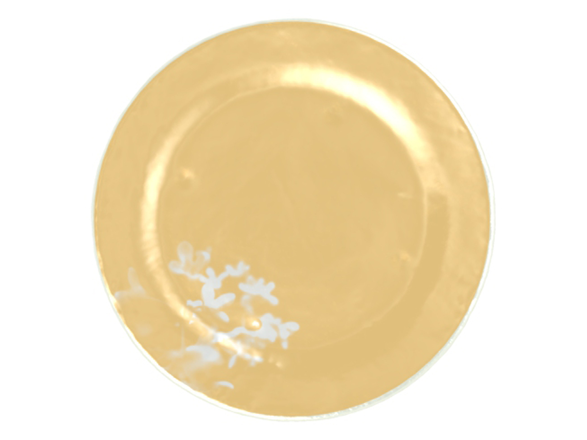 yellow-flower-plate