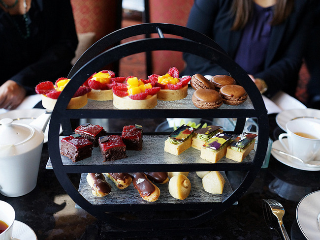 afternoon tea presentation ideas by glass studio