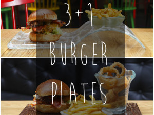 3+1 Burger Plates For Creative Plating